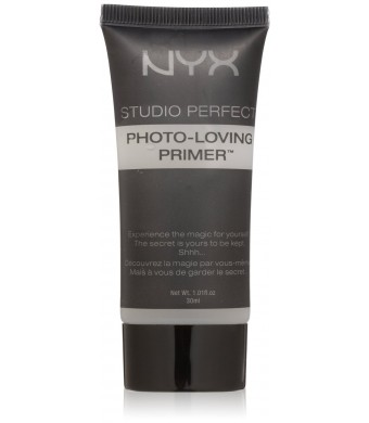 NYX Studio Perfect Primer, Clear, 1.0 oz/30ml