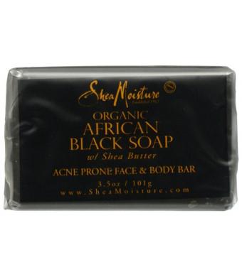 Shea Moisture SheaMoisture African Black Soap Facial Bar Soap - 3.5 oz