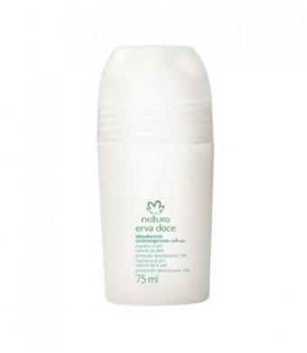Linha Erva Doce Natura - Desodorante Antitranspirante Roll-On 75 Ml - (Natura Fennel Collection - Roll-on Antiperspirant and Deodorant 2.53 Fl Oz)