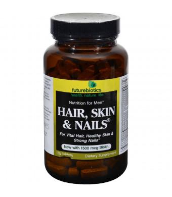 Future Biotics Futurebiotics Hair, Skin and Nails Supplement for Men, Tablets, 135 tablets