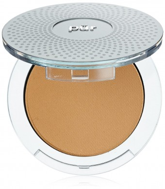 Pur Minerals 4-in-1 Pressed Mineral Makeup, Med Dark, 0.28 Ounce