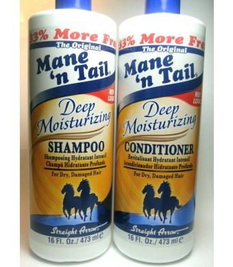 Mane 'n Tail Mane n Tail Deep Moisturizing Shampoo and Conditioner 16 oz