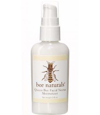 Bee Naturals Queen Bee Facial Nectar - Best Face and Neck Moisturizer - Wonderful Formulation of Vitamin E and