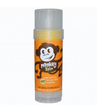 Balmers Monkey Balm, Organic Sea Buckthorn Eczema Remedy Balm, 2-ounce, 1 Stick