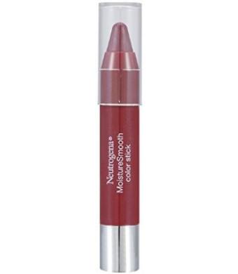 Neutrogena Moisturesmooth Color Stick, Rich Raisin, 0.11 Ounce