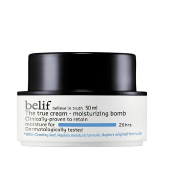 belif Korean Cosmetics The True Cream Moisturizing Bomb, 1.44 Ounce