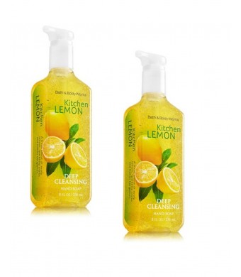 Bath & Body Works Bath and Body Works Anti-bacterial Deep Cleansing Hand Soap Kitchen Lemon Lot of 2