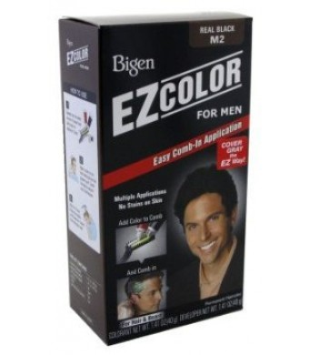 Bigen Ez Color For Men Real Black Kit (3 Pack)