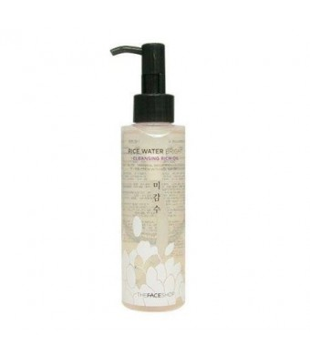 The Face Shop Rice Water Bright Cleansing Rich Oil (Dry Skin) (Korean original)