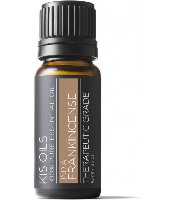 Kis Oil'S Frankincense 100% Pure Essential Oil Therapeutic Grade - 10 Ml (Frankincense , 10ml)