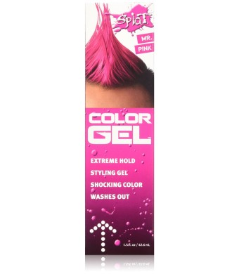 SPLAT Splat Color Gel 1.5 Fl Oz Mr. Pink