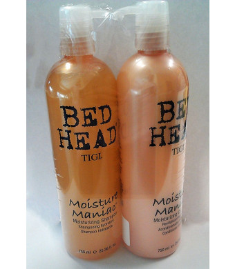 Bed Head Moisture Shampoo and Conditioner 25.36 Fl. Oz. 750 Ml Each.