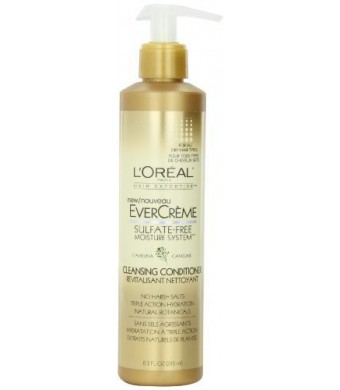 L'Oreal Paris Evercreme Sulfate-Free Moisture System Cleansing Conditioner (Pack of 3)