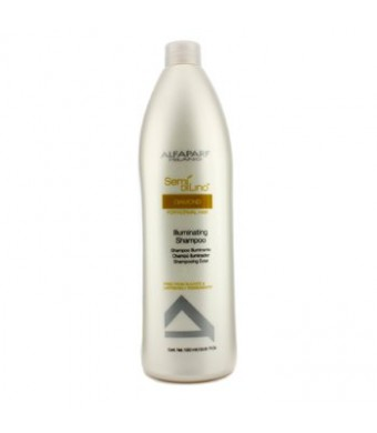 Alfaparf 16355711844 Semi Di Lino Diamond Illuminating Shampoo - For Normal Hair - 1000ml-33.81oz