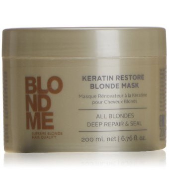 Blond Me Schwarzkopf Professional - Blondme Keratin Restore Blonde Mask Treatment 200