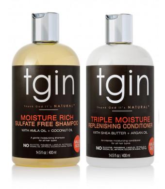 tgin (Thank God It's Natural) tgin Shampoo + Conditioner Duo