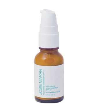JOSIE MARAN Argan Daily Moisturizer SPF 47 with Sunboost ATBTM (0.5 oz) - NEW and IMPROVED!!