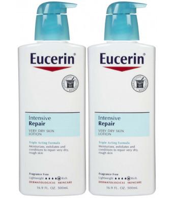 Eucerin Intensive Repair Very Dry Skin Lotion - 16.9 oz - 2 pk