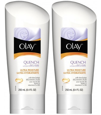 Olay Quench Ultra Moisture Body Lotion - 8.4 oz - 2 pk