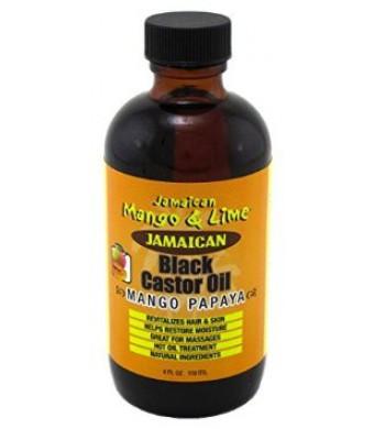 Jamaican Mango & Lime Jamaican Mango and Lime Black Castor Oil (Mango Papaya) 4oz