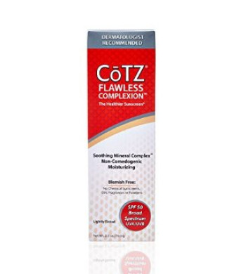 Fallene Cotz Flawless Complexion Spf 50, 2.5 Ounce