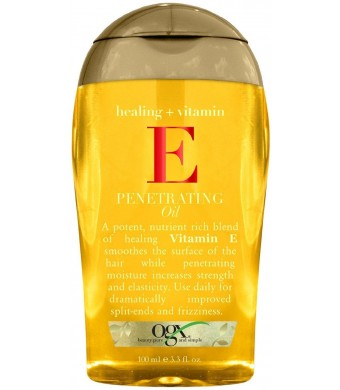 OGX Healing Plus Vitamin E Penetrating Oil, 3.3 Ounce