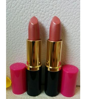 New! 2 X Estee Lauder Full Size Lipstick Pure Color 61 Pink Parfait Shimmer