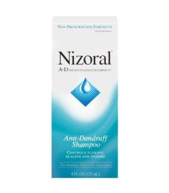 Nizoral A-D Ketoconazole Anti-Dandruff Shampoo-4 fl oz (125 ml)