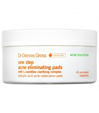 Dr. Dennis Gross Skincare One Step Acne Eliminating Pads