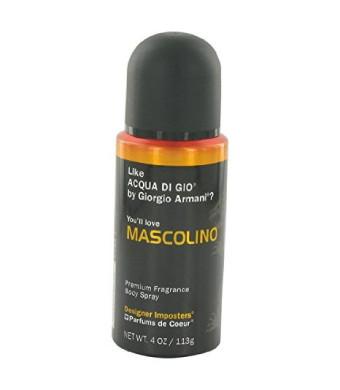 Designer Imposters¨ Designer Imposters Mascolino Cologne By PARFUMS DE COEUR 4 oz Body Spray FOR MEN