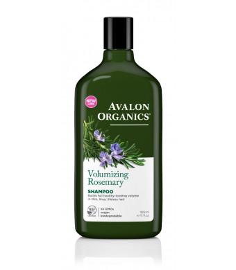 Avalon Organics Shampoo, Volumizing Rosemary, 11 Fluid Ounce