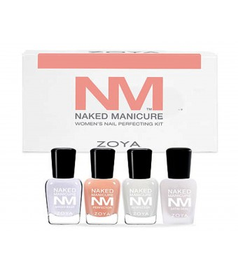 Zoya Nail Polish Naked Manicure Women's Starter Kit
