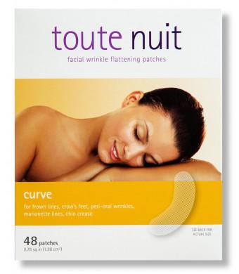 Toute Nuit - Mimiko, Inc. Toute Nuit - Facial Wrinkle Patches - Curve Shape - Anti-Wrinkle Tape - Anti-Wrinkle Patches- Redu