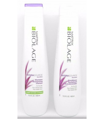 Matrix Biolage Hydrating Hydra Source Shampoo and Conditioner 13.5 Oz Duo Set NEW
