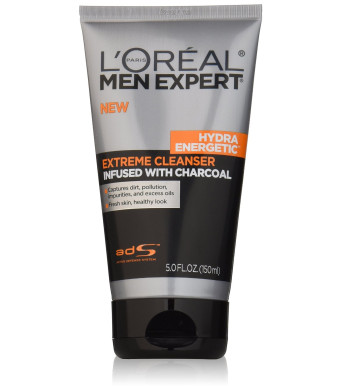 L'Oreal Paris Men Expert Hydra Energetic Facial Cleanser, 5 Fluid Ounce