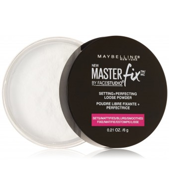 Maybelline New York Facestudio Master Fix Setting Plus Perfecting Powder, Translucent, 0.21 Ounce