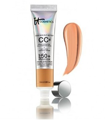 IT Cosmetics CC Cream SPF50 'Tan' BNIB TRAVEL 0.406 fl.oz.
