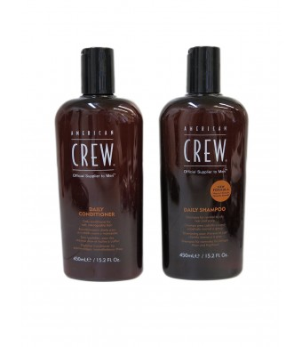 American Crew Daily Shampoo and Conditioner 15.2 fl oz
