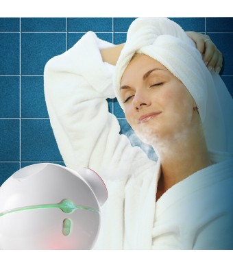 Belmint Ionic Facial Steamer with Hot and Cool Misting Functions ? Freestanding Wall- Powered Desi