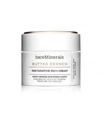 Bare Escentuals bareMinerals Butter Drench Restorative Rich Cream, 1.7 Ounce