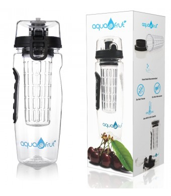 Aquafrut Bottle 2016 Best Infuser Water Bottle (32oz, Multiple Colors) Best BPA-Free Fruit Infusion Sports Bottle