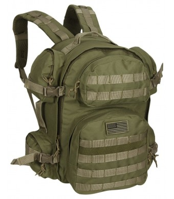 NPUSA Men's Large Expandable Tactical Molle Hydration ReadyBackpack Daypack Bag