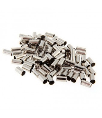 Zimo 50pcs Jagwire Bike 5mm Brake Cable Housing Ferrule End Caps