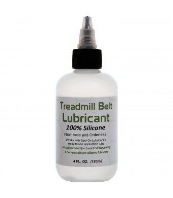 100% Silicone Treadmill Belt Lubricant - Easy to Use - Compatible with Spot On Lubricant's Applica