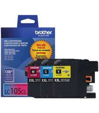 Brother LC1053PKS Ink Printer, XXL -3 Pack