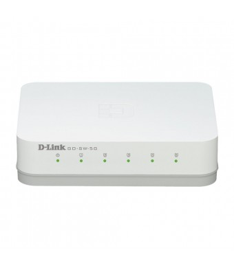 D-Link 5-Port Unmanaged Gigabit Switch (GO-SW-5G)