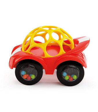 Oball Rattle and Roll Toy Car - Red
