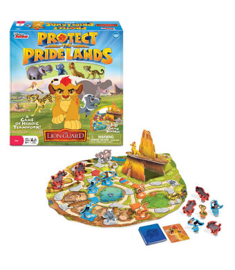 Disney Junior The Lion Guard Protect the Pride Lands Board Game