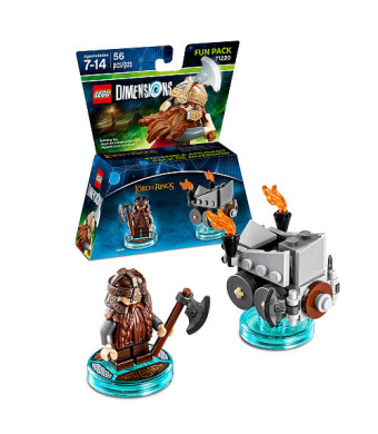 LEGO Dimensions Fun Pack-  Gimli (The Lord of the Rings)
