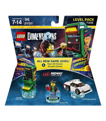LEGO Dimensions Midway Arcade Level Pack
